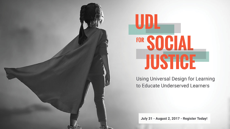 UDL for Social Justice hero image
