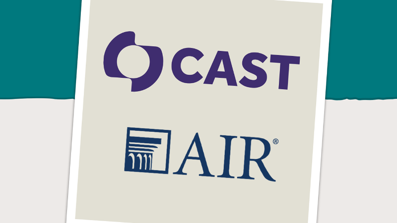 CAST and AIR logos