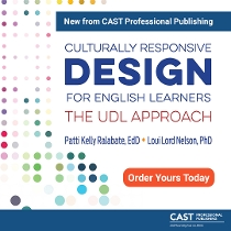 Culturally Responsive Design for English Learners: The UDL Approach book cover