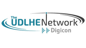 The UDLHE Network Digicon logo