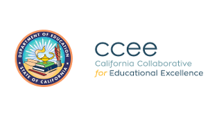 California Department of Education and California Collaborative for Excellence in Education logos