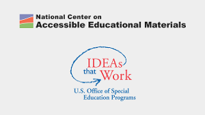 National Center on Accessible Educational Materials logo | IDEAs that Work: U.S. Office of Special Education Programs
