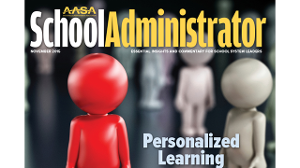 Cover of School Administrator Magazine